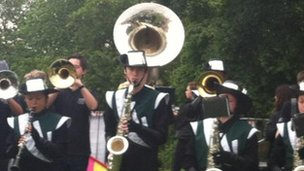 Trinity Marching Band
