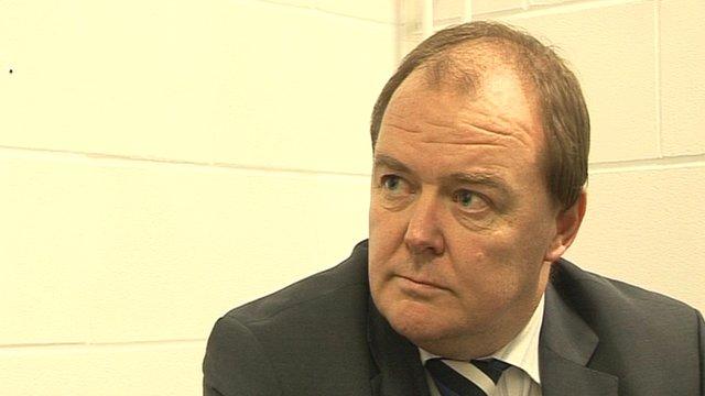 Cardiff City chief executive Alan Whiteley