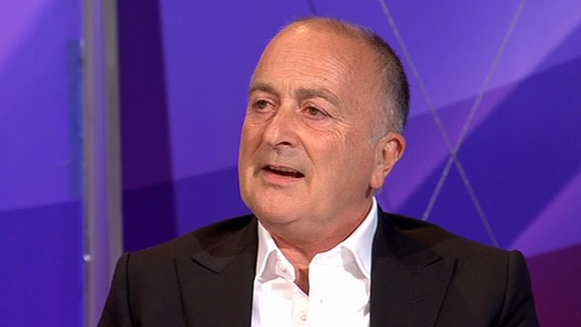 Tony Robinson on Question Time