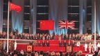 Handover ceremony of Hong Kong, 01 July 1997