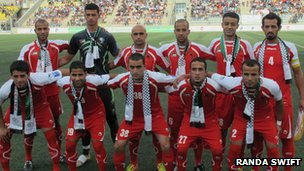The Palestinian National Footbal team