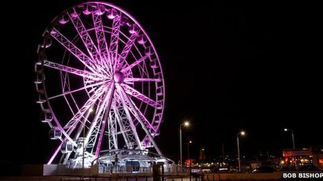 Weston-super-Mare's wheel by Bob Bishop