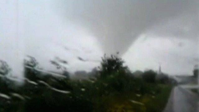 Tornado in Lincolnshire