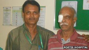 PK Krishnamurthy with Dr V Sitharaman (left)