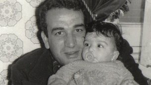 The BBC's Shaimaa Khalil and her father