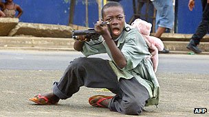 Sierra Leone war, child soldier