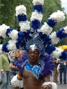 Participant in a past Pride London parade