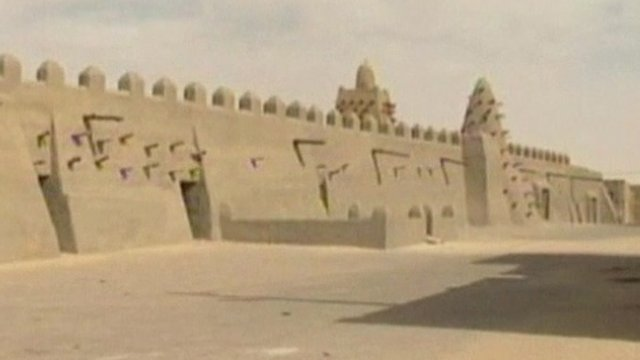 Timbuktu's World Heritage site