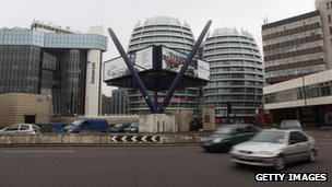 Old Street area of East London, the 'Silicon Roundabout'