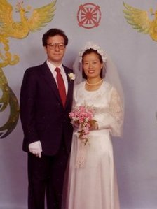 Philip Shanker and his Korean bride