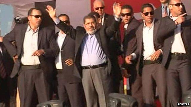Egyptian President-elect Mohamed Mursi