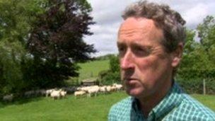 Farmer Robin Dean