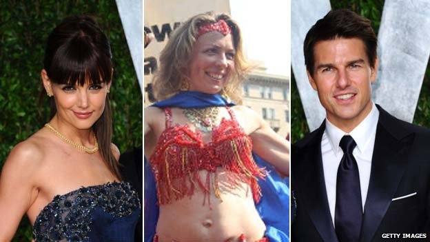 Katie Holmes, Bellydancer, Tom Cruise