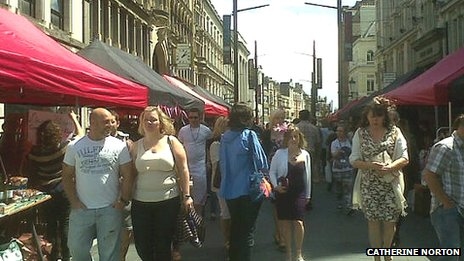 Cardiff traders hope for boost from St Mary Street market
