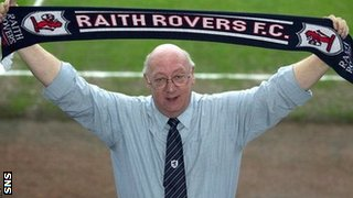 Raith Rovers chairman Turnbull Hutton