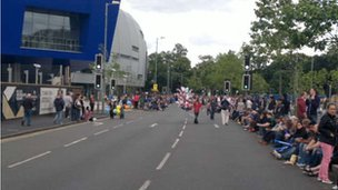 Edgbaston crowds