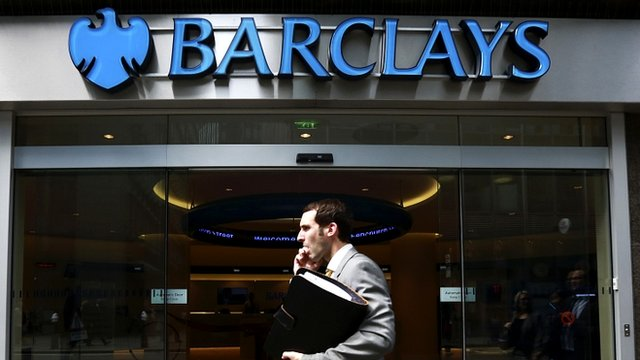 A branch of Barclays bank