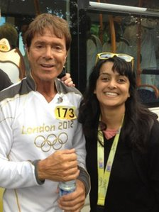 Sir Cliff and Priya