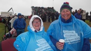 Singing in the rain: enjoying the Irish Open in Portrush