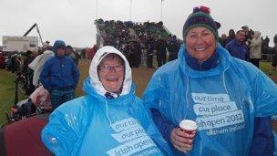 Singing in the rain: enjoying the Irish Open in Portrush