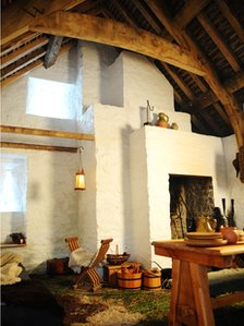 Inside the trader's house in St Fagans
