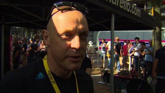 Team Sky team principal Dave Brailsford