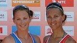 Netherlands' Rimka Braakman and Russia's Svetlana Popova