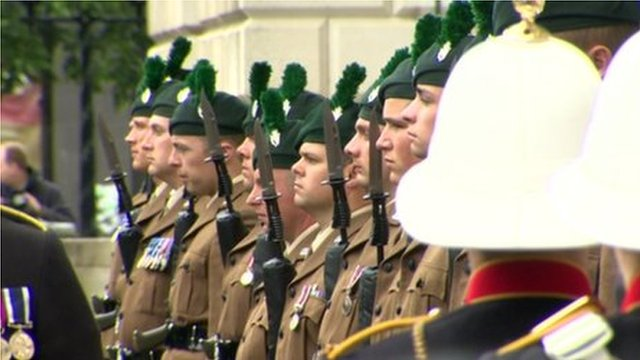 The Battle of the Somme has been commemorated at Belfast City Hall