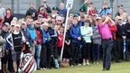 Padraig Harrington enjoyed huge support during the Irish Open and the 2007 winner finished joint seventh after a closing 70