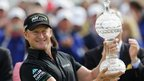 Welshman Jamie Donaldson celebrated his first European Tour title at the 255th attempt by winning the Irish Open at Royal Portrush