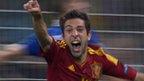 Jordi Alba scores against Italy