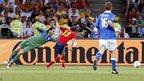 Juan Mata scores for Spain