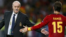 Spain's Vicente del Bosque