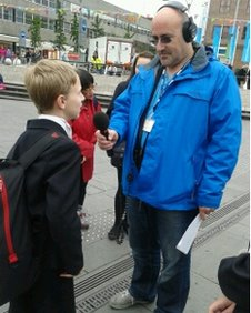 School Reporter interviewed