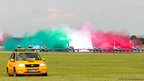 Italian Frecce Tricolori display team