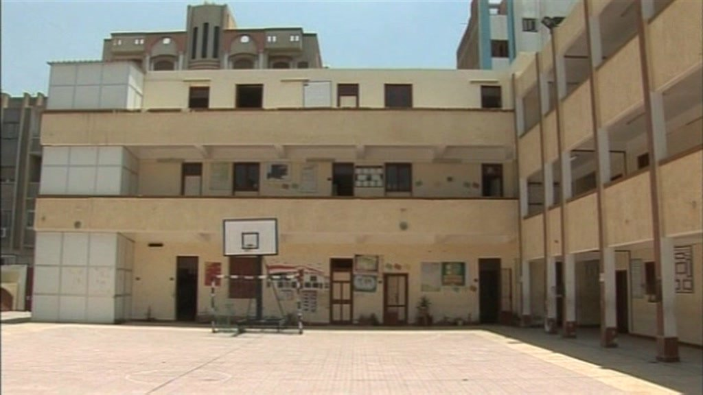 An Islamic school in Ismailiya in Egypt.