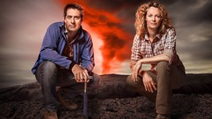 Professor Iain Stewart, Kate Humble 