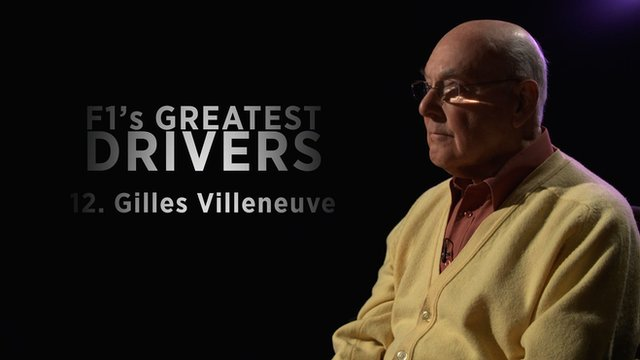 Murray Walker on 'magic' Gilles Villeneuve
