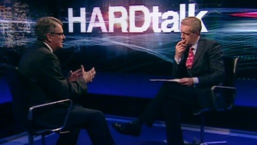 Lynton Crosby on BBC HARDtalk