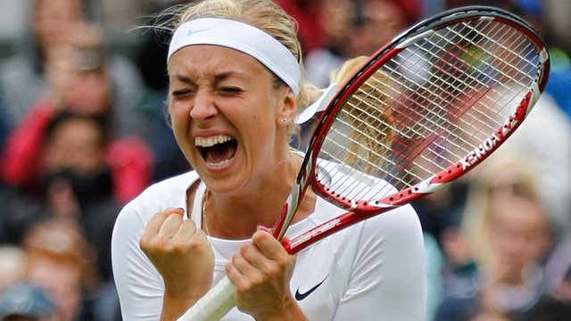 Germany's Sabine Lisicki