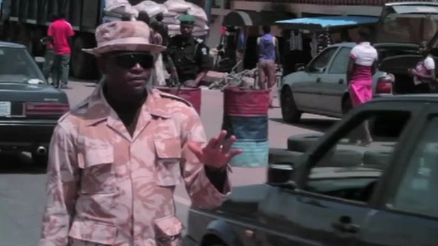 Military security in Jos