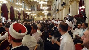 Ceremony in mosque marking Law on Islam centenary