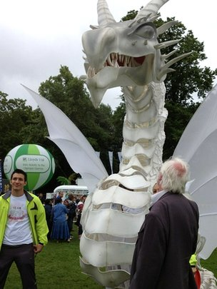 Dragon at Abbey Park