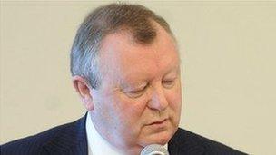 Grand Lodge of Ireland Grand Secretary Drew Nelson