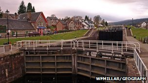 Caledonian Canal at For Augustus