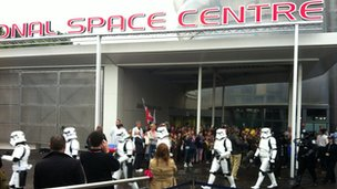 Stormtroopers at the National Space Centre