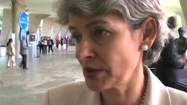Director General of Unesco, Irina Bokova
