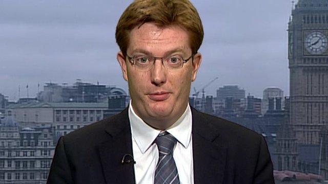 Danny Alexander, the Chief Secretary to the Treasury