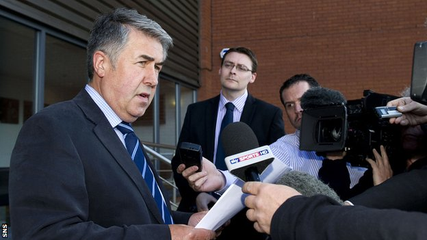 Rangers chairman Malcolm Murray