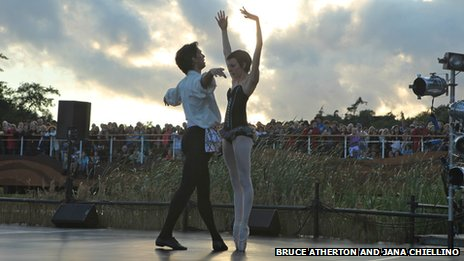 English National Ballet's Carmen at Latitude in 2011 (Photo: Bruce Atherton and Jana Chiellino)